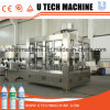 3 en 1 planta de relleno de la maquinaria de relleno del agua/del agua mineral/cadena de producción pura del agua