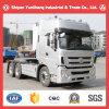 판매를 위한 세 배 반지 T380 6X4 트랙터 트럭/트랙터 트럭