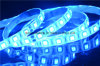 Iluminación flexible segura y azul del voltaje de la C.C. 12V del LED de tira
