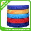 Kleine Ordnungs-kundenspezifisches Zeichen-Armband-Silikon