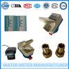 Tipo mojado elegante pagado por adelantado contador del agua de la tarjeta del RF de Dn15mm