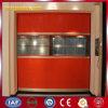 Puerta automática del balanceo de la velocidad de la cortina plástica industrial del PVC (YQRD0102)