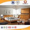 Base di legno del blocco per grafici della base di stile della camera da letto di disegno neoclassico della mobilia (UL-C101)