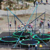 4 Personsのための安いBungee Cord Trampoline Kiddie Ride Equipment