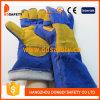 Голубым перчатки усиленные Welder безопасности Dlw626