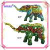 Resina Mosaic Elephant Statue con Mosaic variopinto