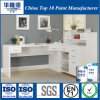 Pintura branca brilhante super do revestimento da mobília do plutônio de Hualong (HJ3710)
