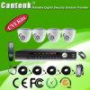 4 kit en tiempo real de la cámara DVR del CCTV Hdcvi del canal 1080P (CVR-5104DSLS20)