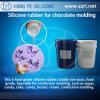 Borracha de silicone da cura da adição do produto comestível