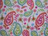Oxford 600d fleurit le tissu de polyester d'impression (DS1566)