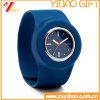 Wristband de la palmada del silicón de la venta al por mayor del regalo de la promoción