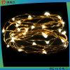 Lumière décorative de la lumière DEL de chaîne de caractères de câblage cuivre de festival de Noël