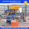 Tijolo/bloco de bloqueio da argila Wt4-10 que faz a máquina com capacidade grande