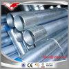 Il tubo d'acciaio galvanizzato del condotto ERW ha filettato con le protezioni della plastica dell'annuncio dell'accoppiamento