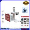 30W mueren la máquina de acero de la marca del laser de la fibra 200X200