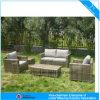 現代屋外のソファーの藤の家具の余暇のテラスの柳細工のソファー(CF807)