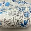 Flor especial couro impresso do plutônio para as sapatas (HS-M102)