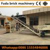 Machine creuse concrète semi automatique de presse de vibration de machine de brique pleine