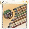 China-kundenspezifische lederne Gitarren-Brücken