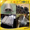 Perfil de aluminio del disipador de calor del OEM para la termólisis de la máquina