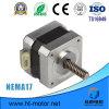 Motor de escalonamiento híbrido NEMA17 China