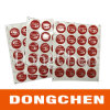 Kundenspezifischer dekorativer Abdeckung-Druck-wasserdichter anhaftender Epoxidaufkleber