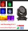 lumière principale mobile 6 de 36*10W DEL dans 1 éclairage d'étape de Rgbeyp DEL