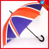 自動車の開いたまっすぐなゴルフ傘