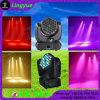 indicatore luminoso mobile della discoteca della testa LED della lavata del fascio 36X3w