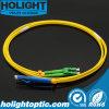 Lca aan Kabel van het Flard van de Vezel van LC de Duplex 3.0mm Optische