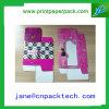 Rectángulo de regalo cosmético del papel del rectángulo del rectángulo de papel del rectángulo de ventana