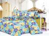 Katoenen die van 100% Bed voor het Blad van het Bed van het Gebruik van het Hotel wordt geplaatst