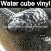 Vinyl autoadesivo Film/Water Cube Vinyl Film/Car Self Adhesive Vinyl Film 1.52*30m