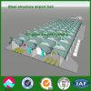 나이지리아에 있는 Prefabricated Light Steel Structure Airport Terminal 홀