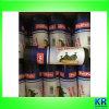 Sacchetti di rifiuti neri dei sacchetti di immondizia dell'HDPE Onroll con il contrassegno
