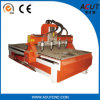 Acut-1825-4 다중 스핀들 CNC 대패 목제 조각 기계 또는 나무 절단 기계장치