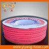 Tuyau à haute pression de pulvérisateur de PVC de résistance chimique