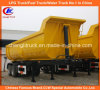 2 차축 24cbm U-Shape End Tipper Truck Semi Trailer