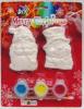 DIY die de Vastgestelde Giften van Kerstmis schilderen