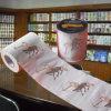 Fournisseur de vente en gros de tissu de papier de Chine