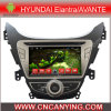 Lettore DVD dell'automobile per il lettore DVD di Pure Android 4.4 Car con A9 il CPU Capacitive Touch Screen GPS Bluetooth per Hyundai Elantra /Avante (AD-8110)