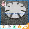 Пластмасса подгонянная оборудованием разделяет прокладку прокладки PTFE тефлона CNC