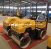 Rolo de estrada hidráulico manual de vibração do mini cilindro dobro (FYL-880)
