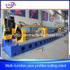De elektrische Automatische CNC van de Pijp van het Profiel van het Metaal Scherpe Machine van het Plasma