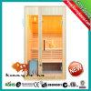 Nueva sauna de madera de interior del vapor mojado de 2 personas (KL-2LT)