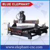 Шпиндель 1530 двойника пневматической системы Китая машина маршрутизатора CNC 4 осей в Shandong с приспособлением Routary