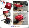 Carrinho de mão de roda resistente da cor vermelha para o jardim (WB5638)