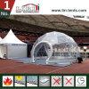 Tente de dôme géodésique avec AC, tente de sphère avec le climatiseur