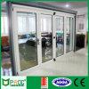 Алюминиевый bi-Folding Doors Alloy Double Glass с As2047 Certificate Pnoc008