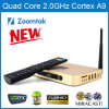 Quadrato Core Android Smart TV Box con Latest Kodi